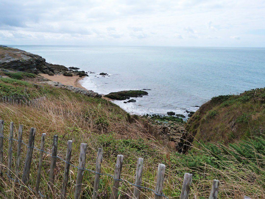 Promenade  sur  le  sentier  des  douaniers  sur  la  côte  de  Jade