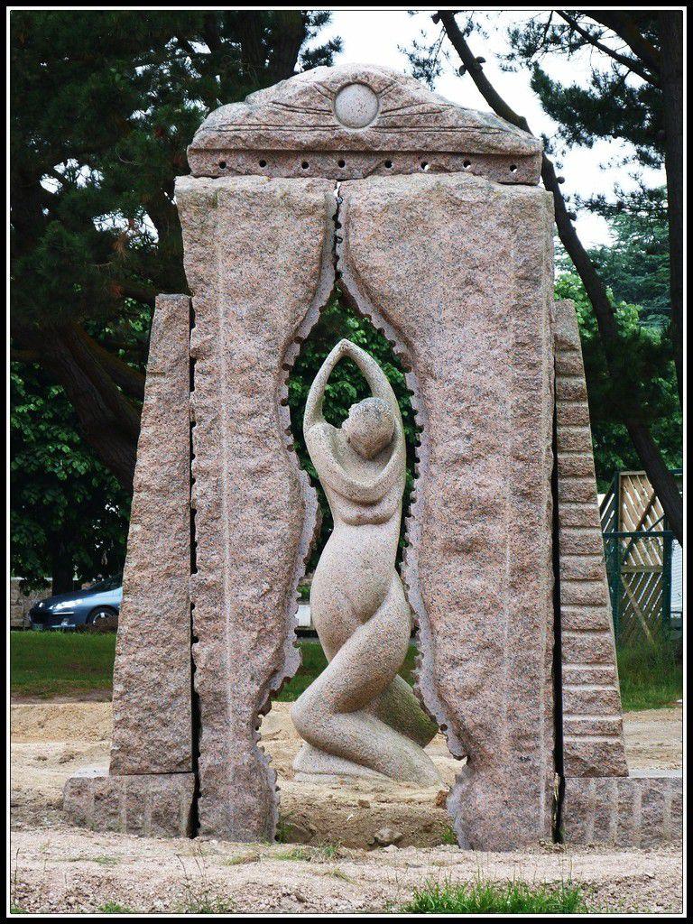 Le  parc  des  sculptures  de  Ploumanach