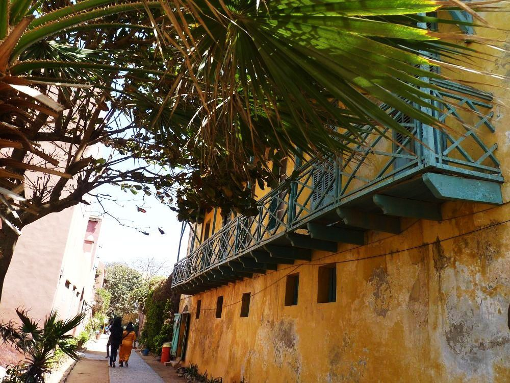 L'île  de  Gorée  au large  des  côtes  du Sénégal