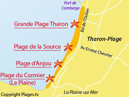 La  source  de  Tharon : eau potable  très  prisée