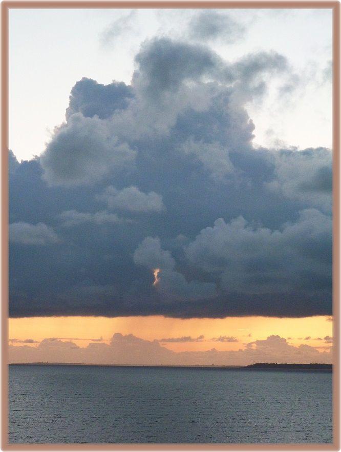 L'océan et  le  ciel !