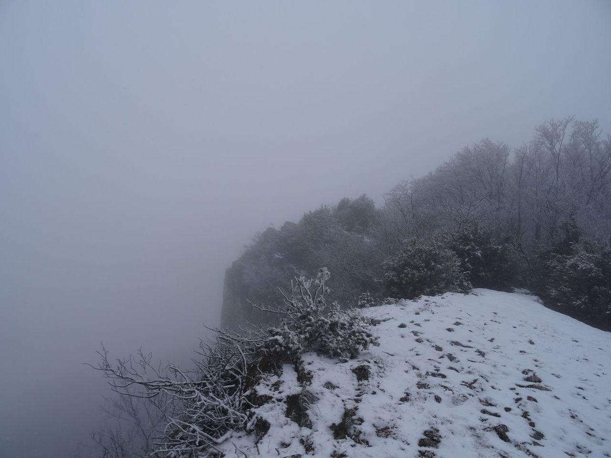 on trouve la neige à 900 m