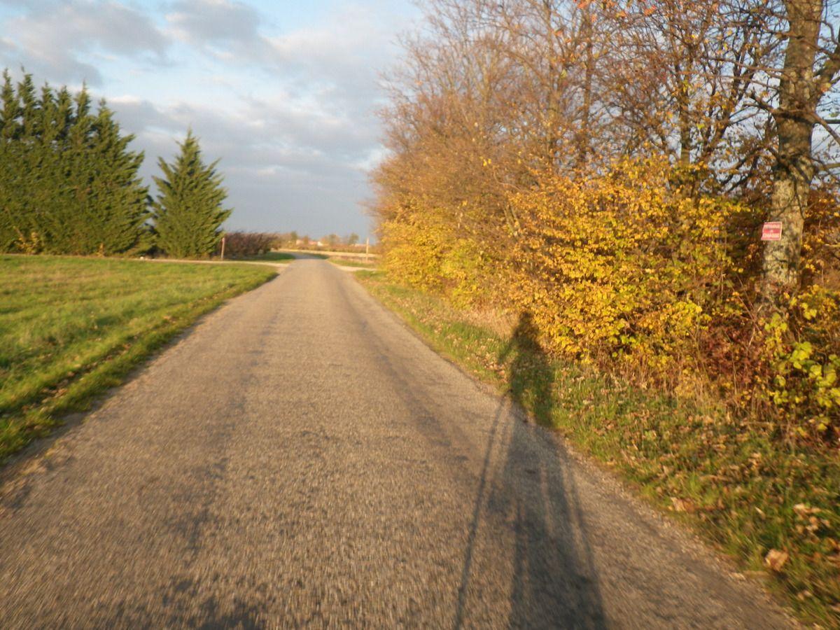 Pas plus que le 22 novembre 2012 au coucher du soleil ...