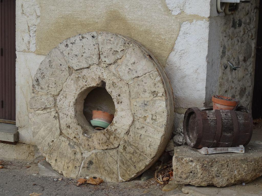 Une roue de rechange ... si jamais je cassais un rayon ;-)