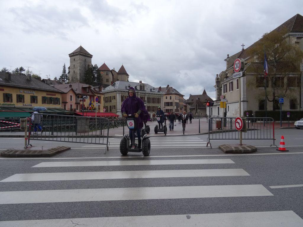 Annecy sous la pluie