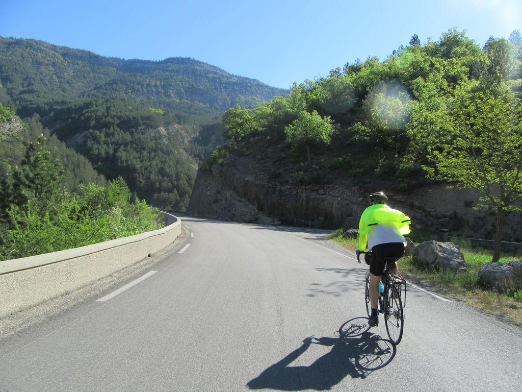 De Crest au Col de Muse, via St Nazaire le Désert et la vallée de la Roanne