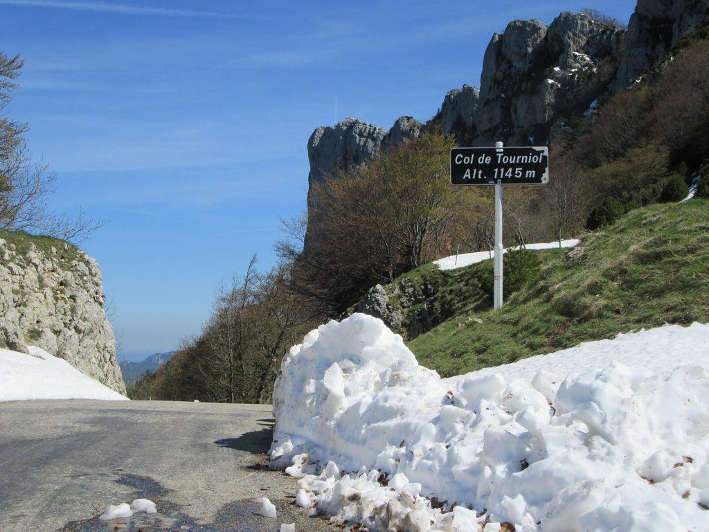 Col de Tourniol, gorges du Léoncel et retour