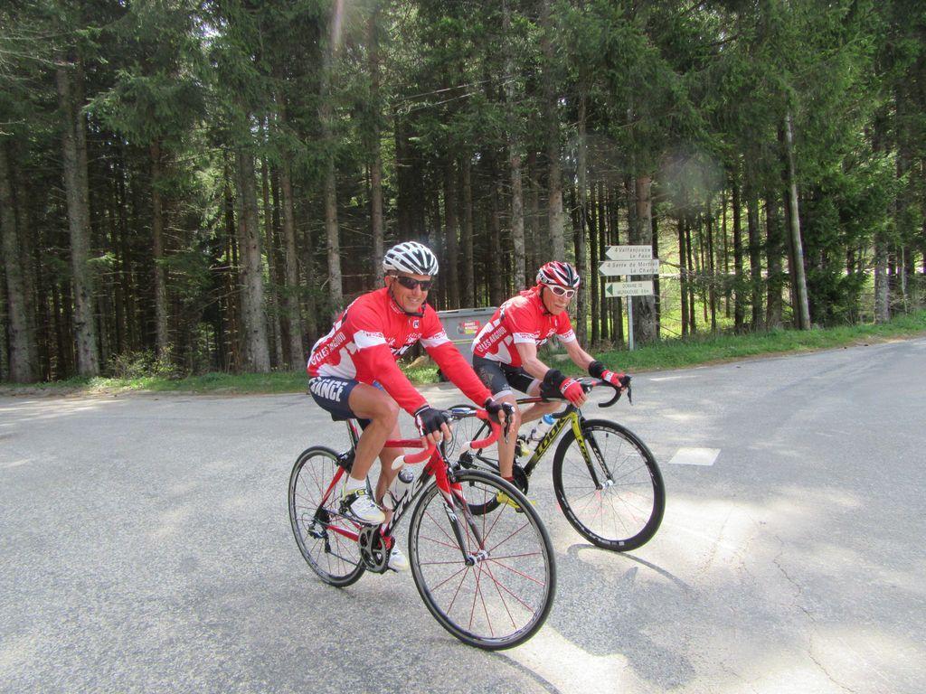 Après le Col de Bioux et ses deux kilomètres redressés  !