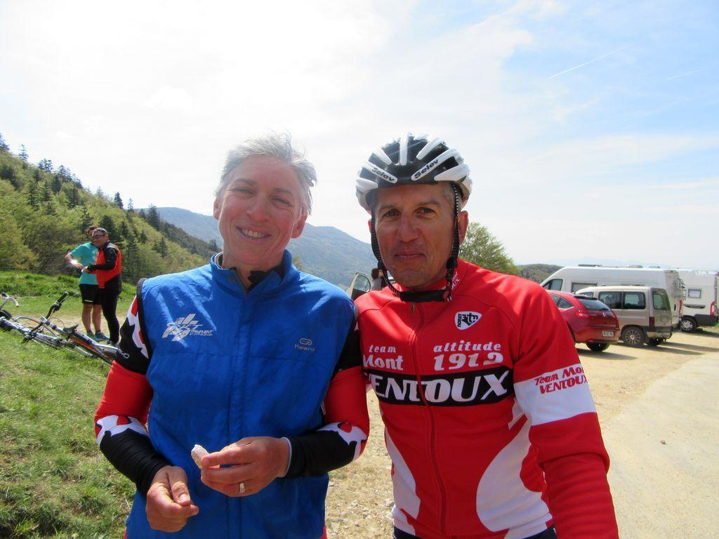 Rencontre avec Jojo Court au Col de Tourniol