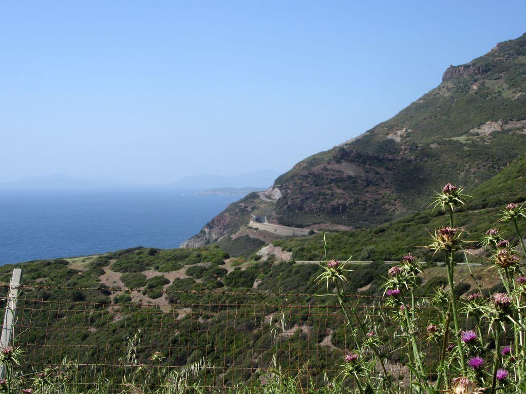 Une route côtière fantastique ... un vrai spot pour le vélo !!!!