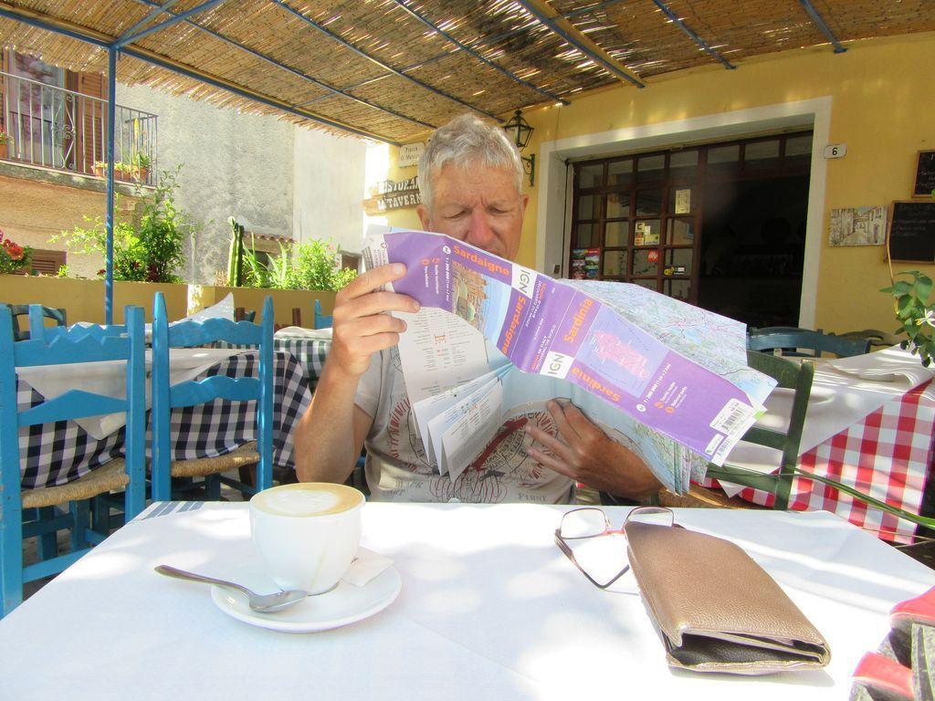 """Activité """"lecture de la carte"""" à Orosei"""