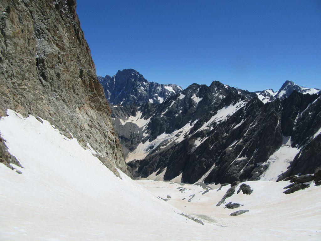 Pas de crevasse sur ce petit glacier débonnaire !