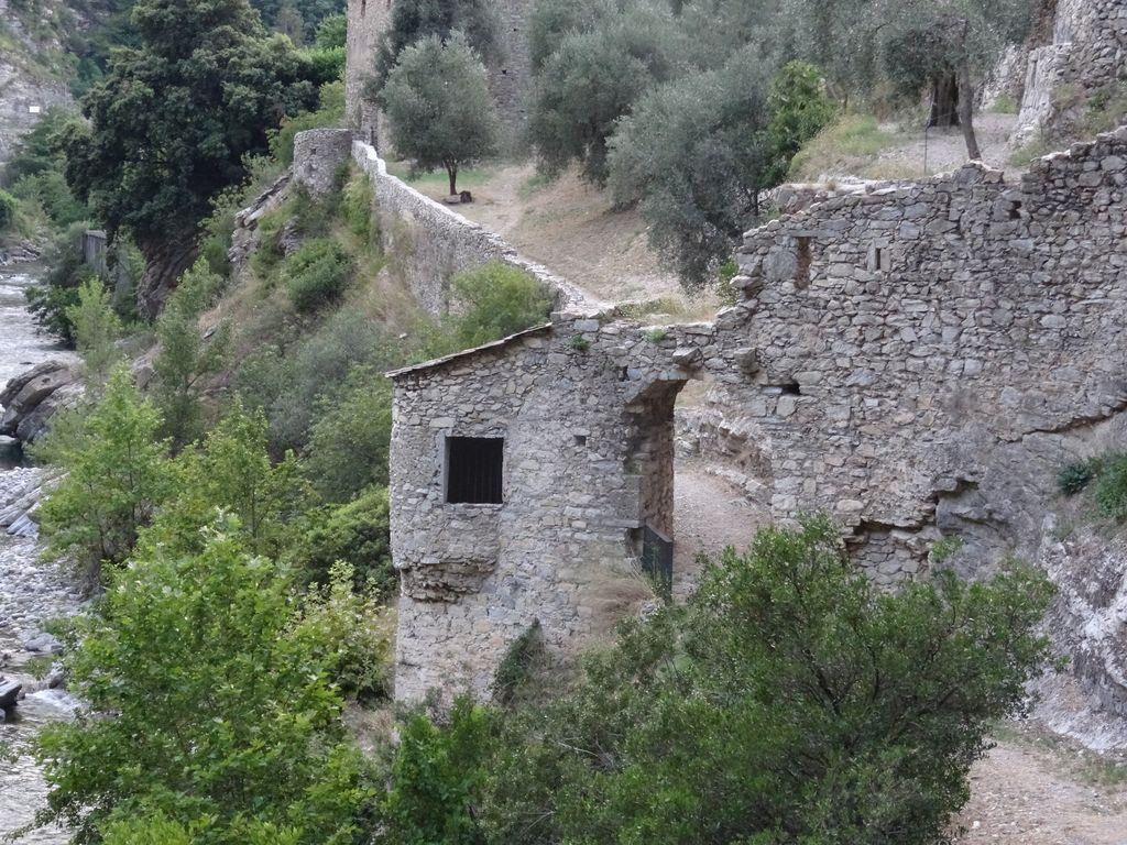 Le sentier valléen, la Roya