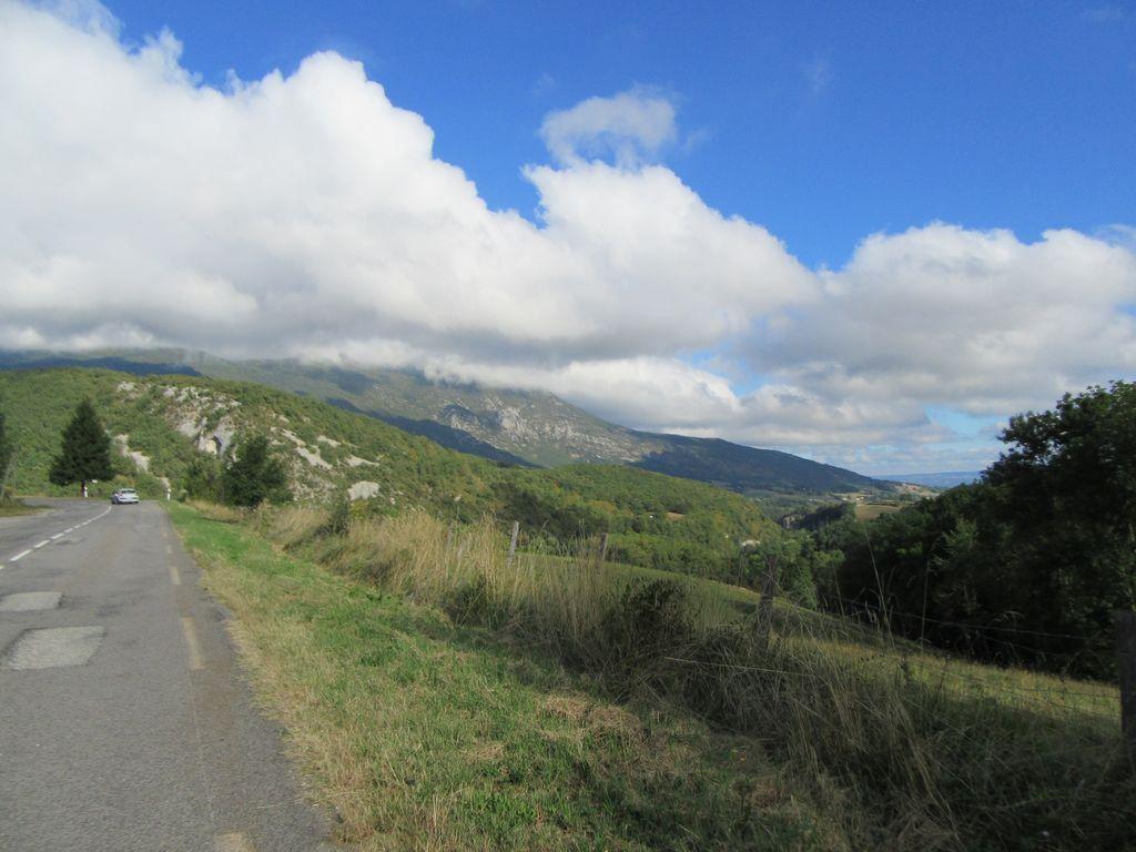 La route de Musan est visible en face !