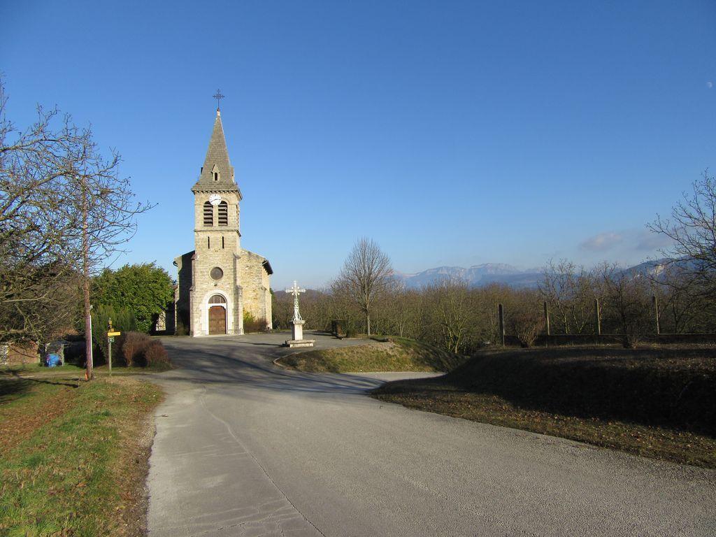 06/01 Eglise de Cras et Vercors partiellement givré