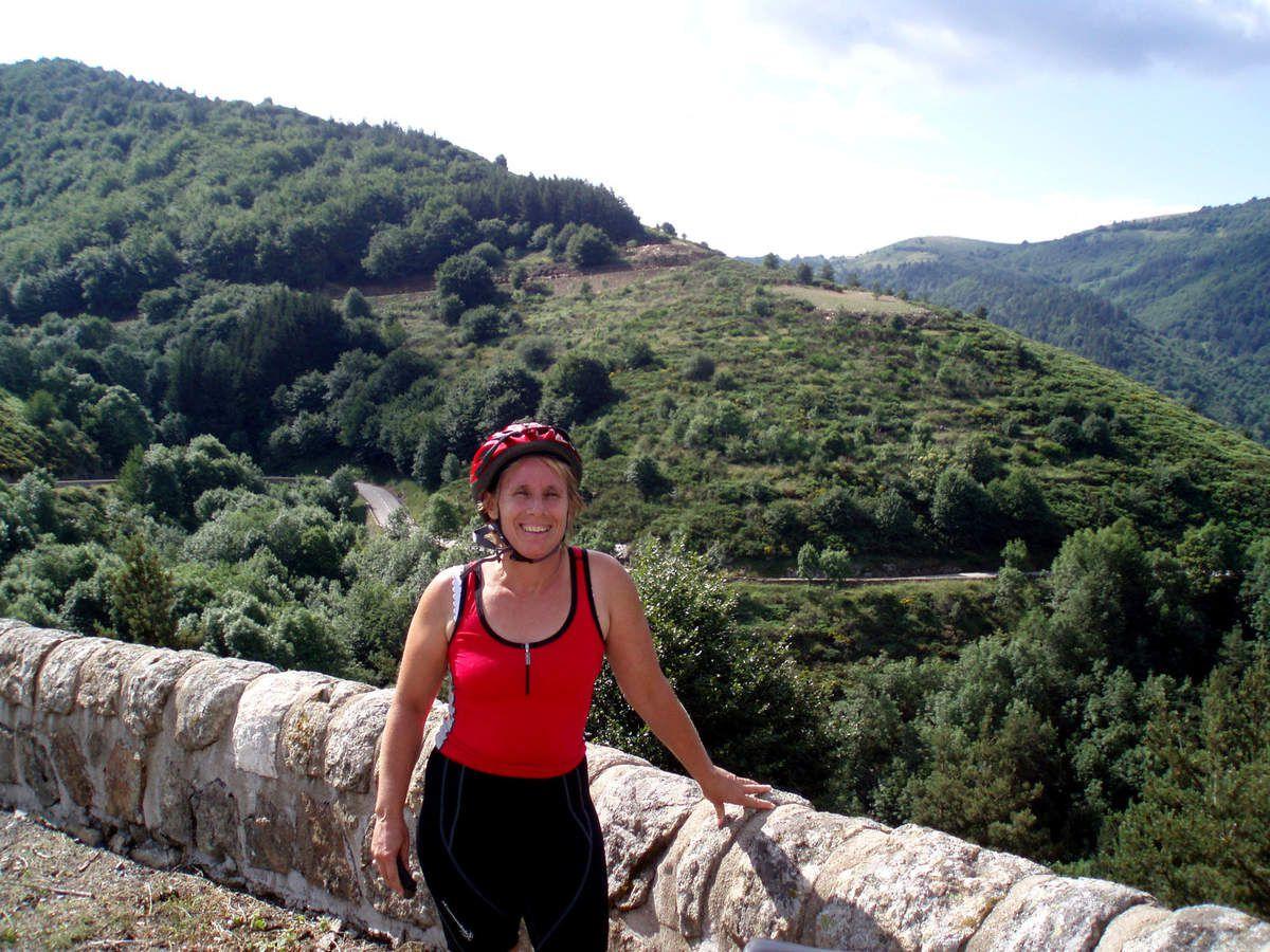 Montée de Mézilhac, ardéchoise 2007, le jour où j'ai vu Cricri , Valex , Nainvert et Yann pour la première fois