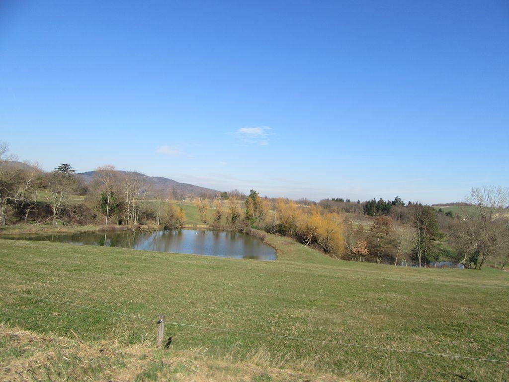 Sur le plateau on trouve plusieurs petits étangs
