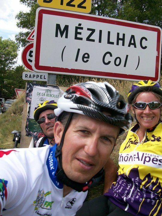 Août 2010 Premières sorties avec Cricri et Olive, qui posent les bases de ma pratique vélo actuelle !