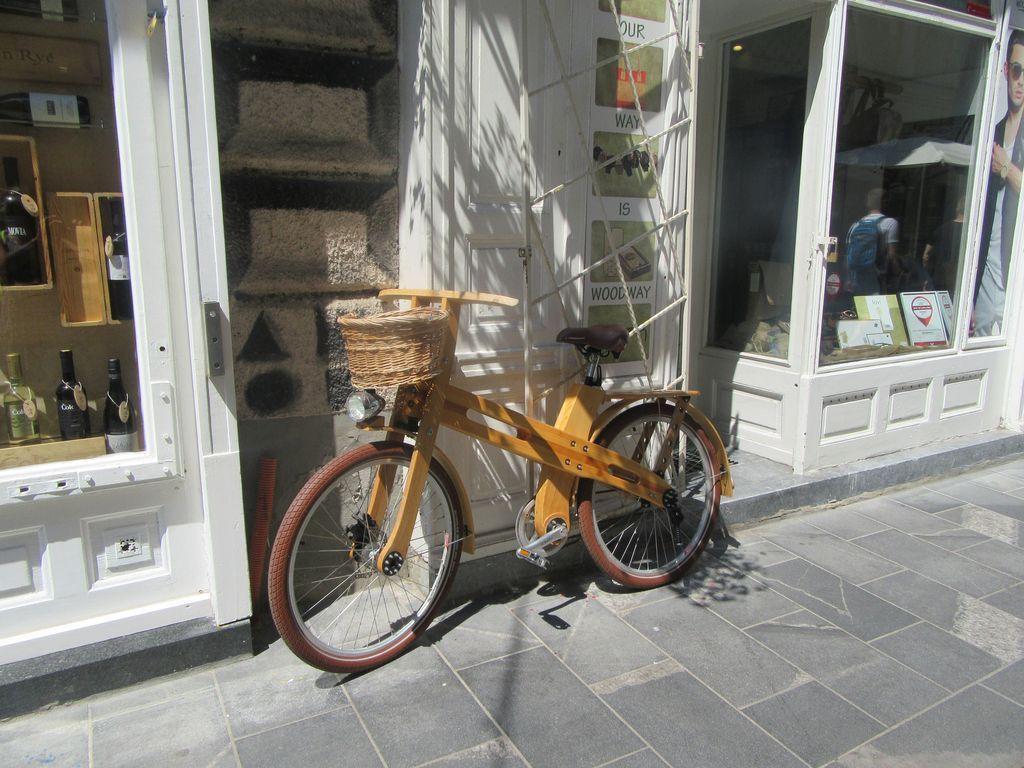 Un vélo tout en bois !