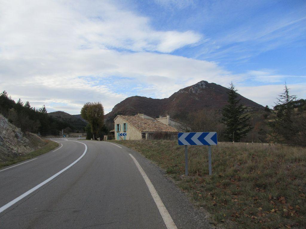 La haute vallée de la Méouge et Séderon