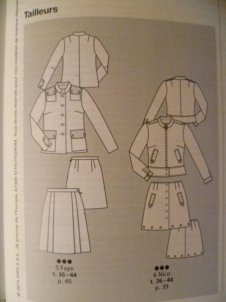 Vue d'ensemble des modèles: tailleurs