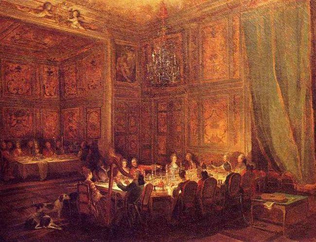 Souper chez le Prince de Conti (M.B. Ollivier)