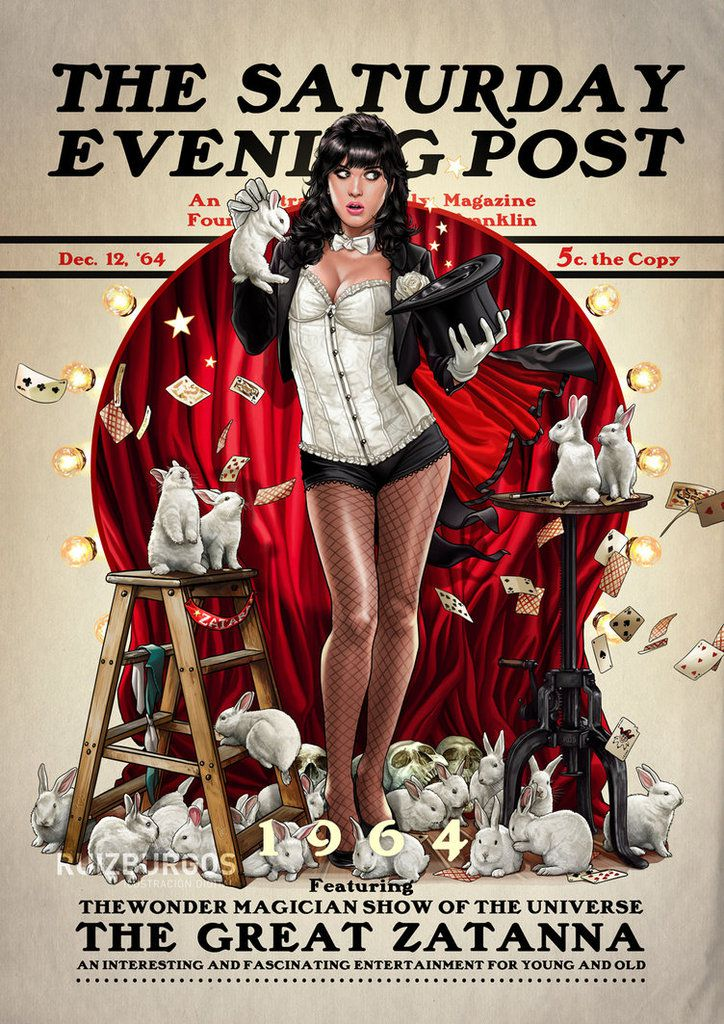 The Saturday Evening Post avec l'artiste Ruiz Burgos, hommage à N. Rockwell et  J.C. Leyendecker