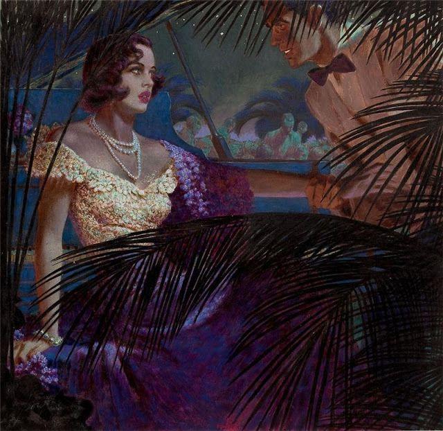 La femme américaine, sensuelle, des années 50... avec Edwin Georgi.