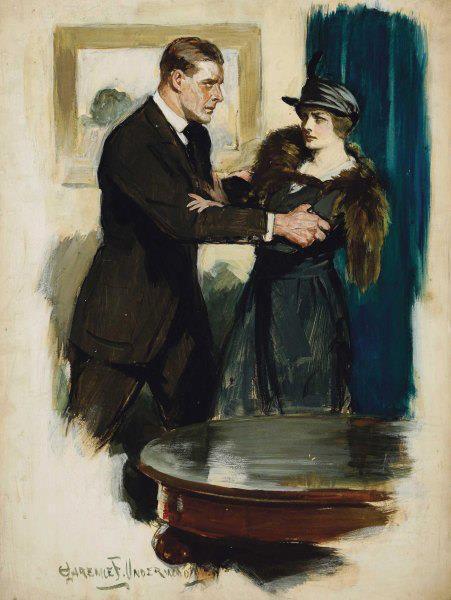 Clarence F. Underwood - Le couple amoureux