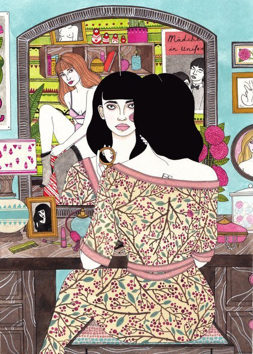 Laura Callaghan, illustratrice...