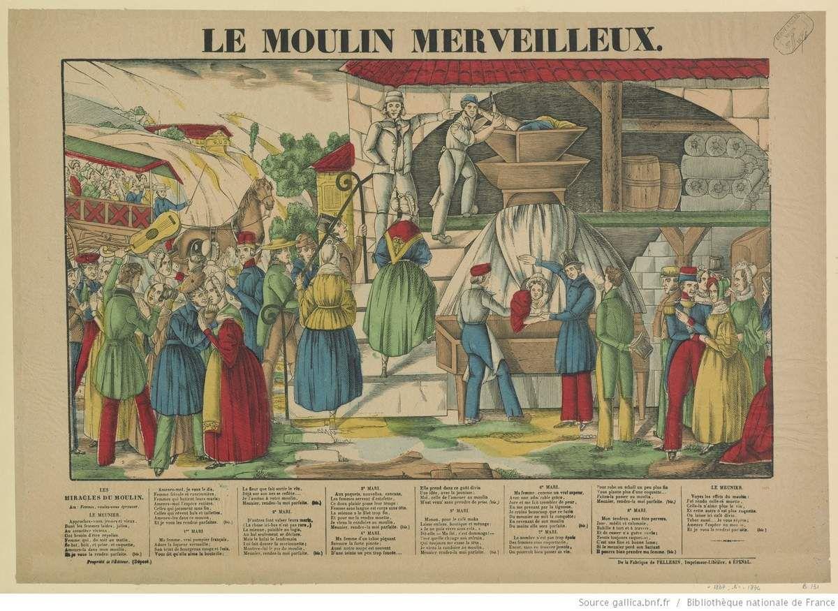 Estampe de la fabrique de Pellerin, imprimeur-libraire, à Epinal. - 1837