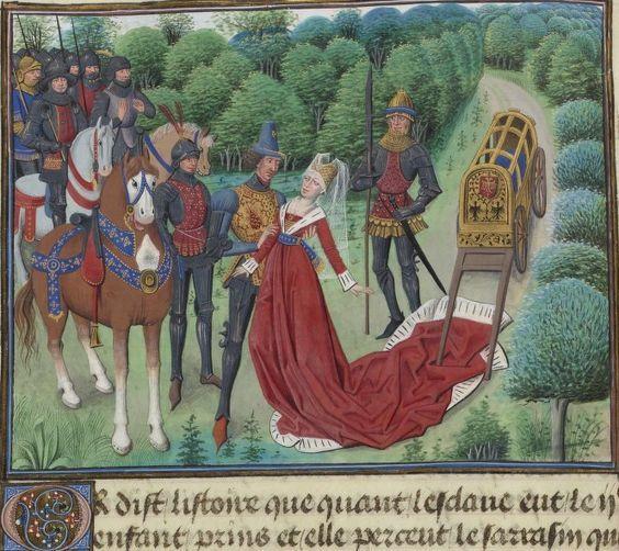 """Marie de Frances """"Lanval"""""""