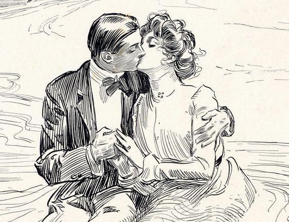 La '' Gibson girl '' et le mariage
