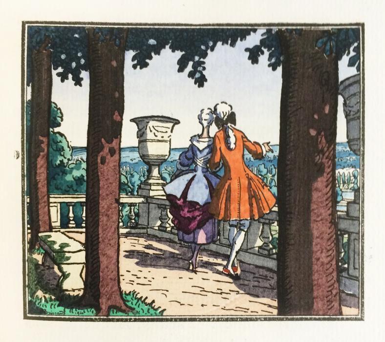 Boylesve (René) - Alcindor ou suite à la leçon d'amour dans un parc. Illustr P. Brissaud
