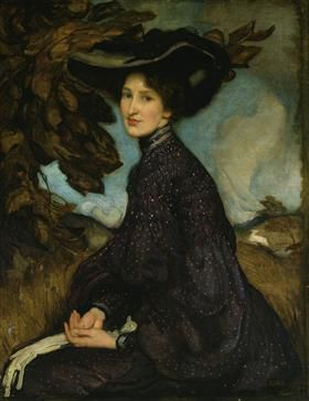 G.Washington Lambert - Peintre - 1900