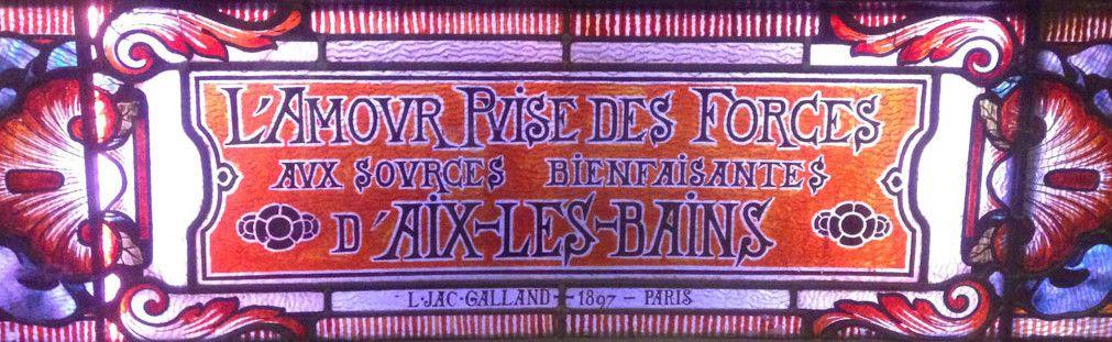 La vie de Palace à Aix les Bains – 2/.-