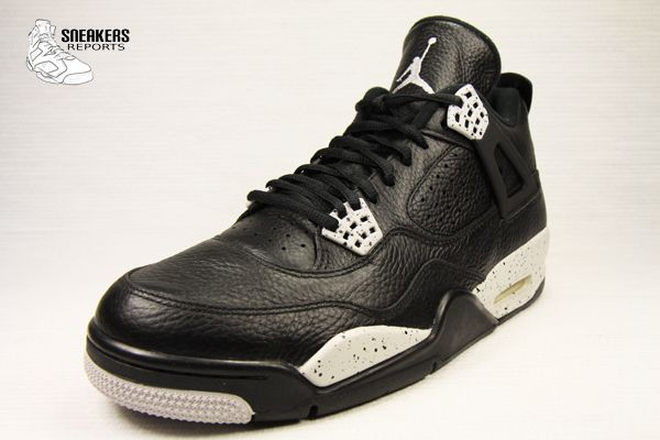 Nike Air Jordan IV Retro LS Tech Grey &quot&#x3B;OREO&quot&#x3B;