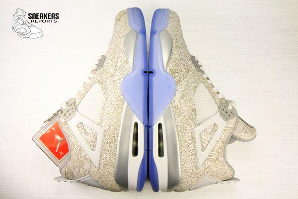 Nike Air Jordan IV Rétro Laser 2015