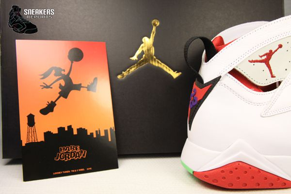 Nike Air Jordan VII Rétro Hare 2015