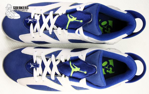 Nike Air Jordan VI Rétro Low Insignia Blue
