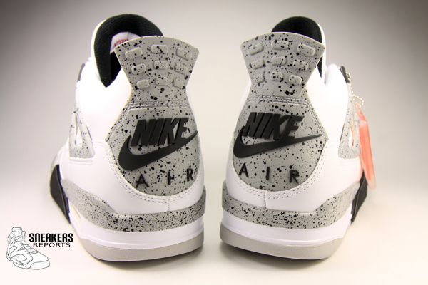 Nike Air Jordan IV Rétro  White Cement OG 2016