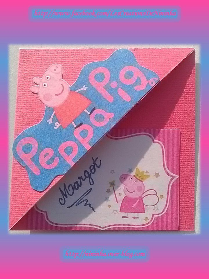 Peppa pig pour Margot