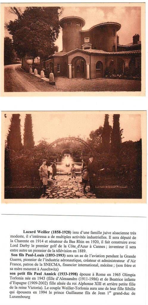 Villa Celesta, 100 avenue de Vallauris. Aimablement proposé par F.V.