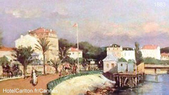L'Hôtel de la plage. 1883. Huile sur toile,70X104cm.Photo Michel de Lorenzo