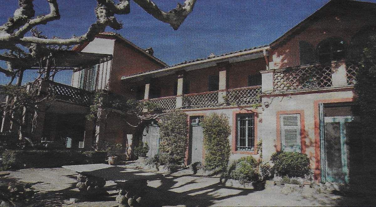 Villa Primavera. Nice-Matin.