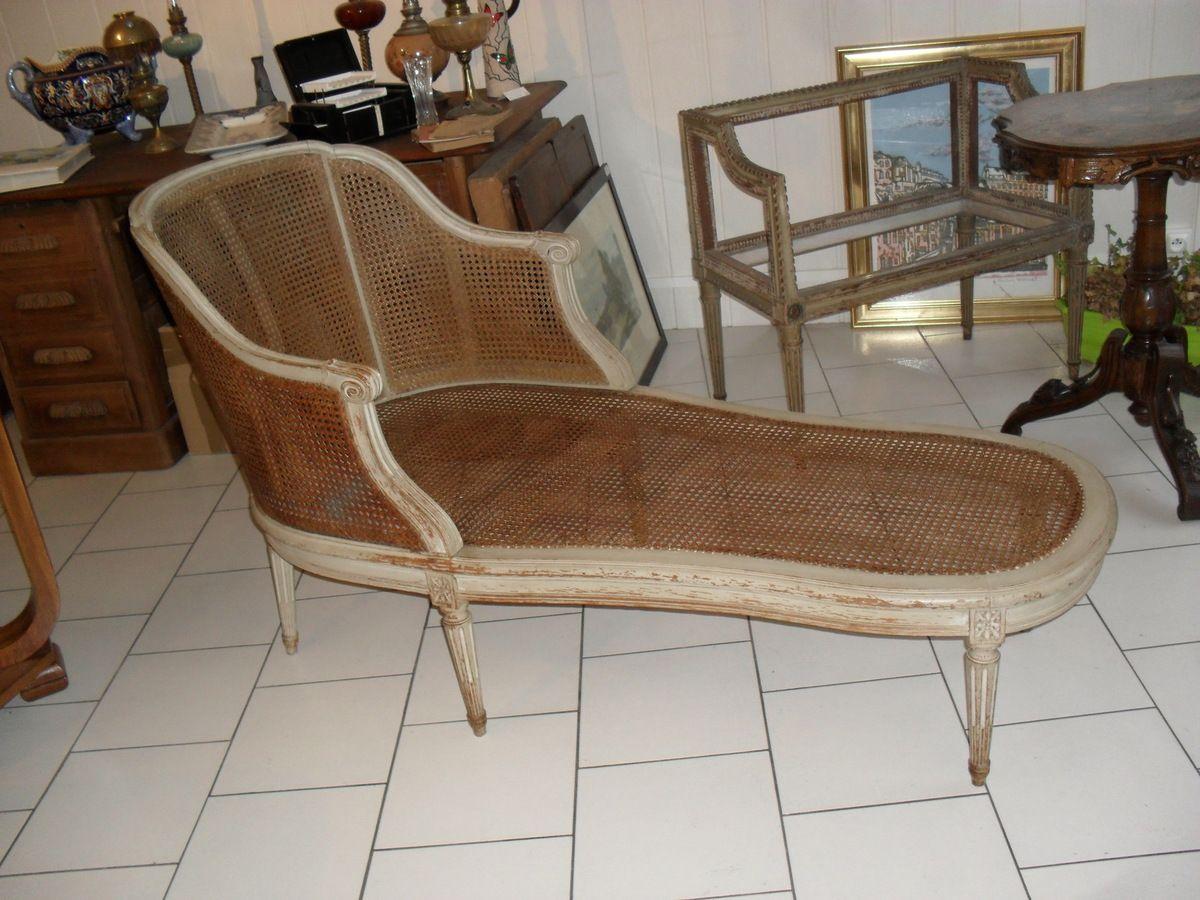 m ridienne cann e de style louis xvi du xixe s le blog. Black Bedroom Furniture Sets. Home Design Ideas