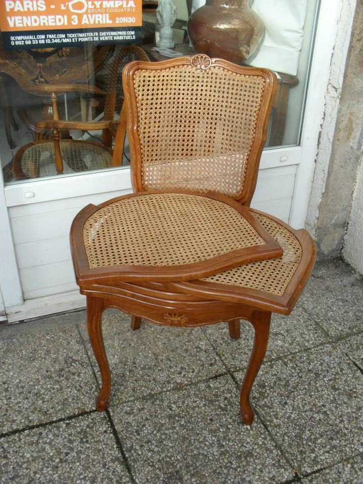 chaises de style Louis XV contemporaines