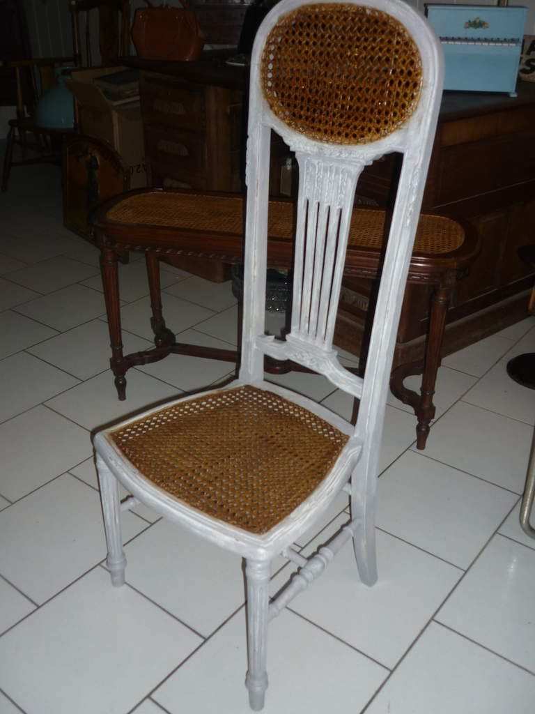 Chaise De Nourrice Cannee Style