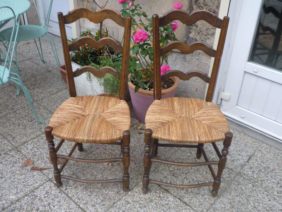 Cannage, Paillage de chaises, fauteuils, banquettes,...