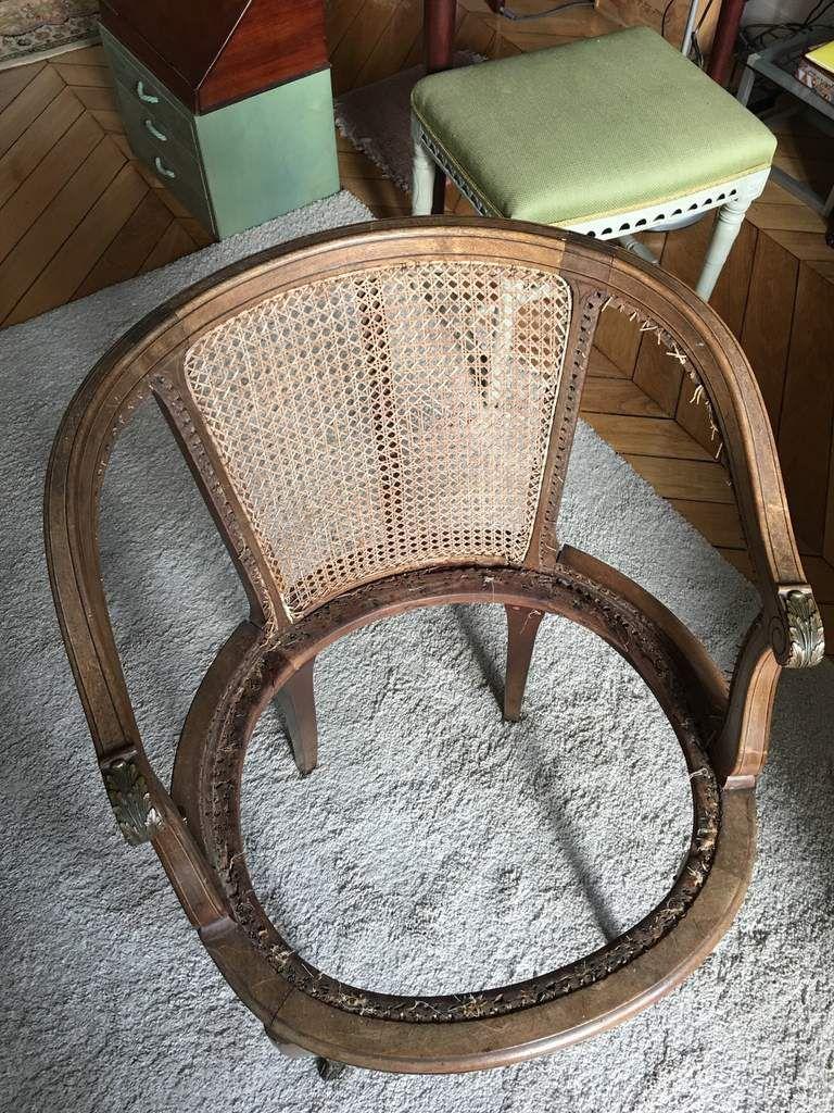 Artisanat jadis le blog de jadis - Cours de restauration de fauteuil ...